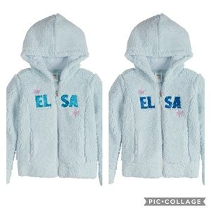NWT Jumping Beans Disney's Frozen Sherpa Hoodie